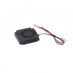 4010 Turbo Fan 40x40x10mm (Red-Black short wire) 24V