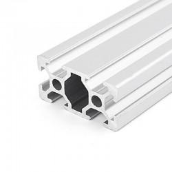 2040 T Slot Aluminium Extrusion Profile Silver 1m 2m