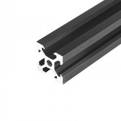 2020 V Slot Aluminium Extrusion Profile Black 1m
