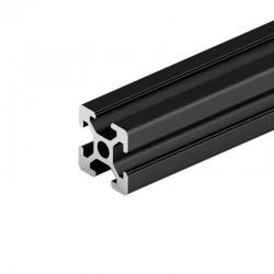 2020 T Slot Aluminium Extrusion Profile Black 1m