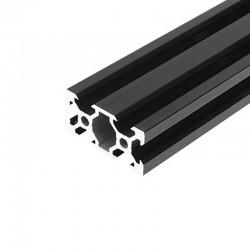 2040 V Slot Aluminium Extrusion Profile Black 1m