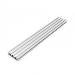 2080 V Slot Aluminium Extrusion Profile Silver 500mm
