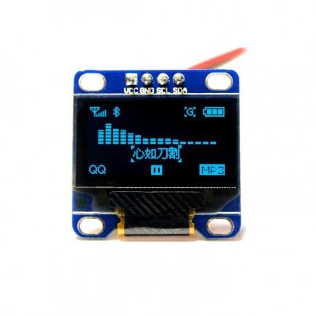 0.96 inch 128X64 OLED Display (Blue)
