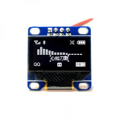 0.96 inch 128X64 OLED Display (White)