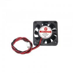 4010 Axial Fan 40x40x10mm (Red-Black short wire) 12V 24V