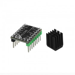 MKS TMC2209 V2.0 Silent Stepper Driver Module (Black) for RepRap RAMPS