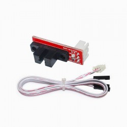 Optical Limit Switch Red with White 0.5m Wire for 3D Printes and Mini CNC