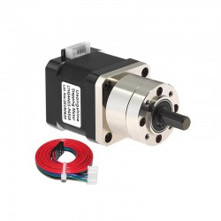 17HS4401S-PG518 Stepper Motor with 5.18:1 Planetary Gearbox for 3D Printer Extruder