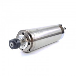 HQD 3.2KW Water Cooled Spindle 220V 12A 400Hz 24000rpm 100x265mm ER20 4 Steel Bearing (Model: GDZ-23-1B)