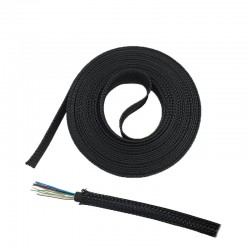 6mm Insulated Braided Sleeve High Temperature Tube 1m