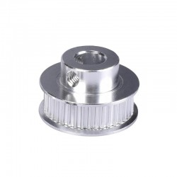 GT2 30T 30 Teeth Timing Pulley (5mm Bore) 30TB5W6 Silver