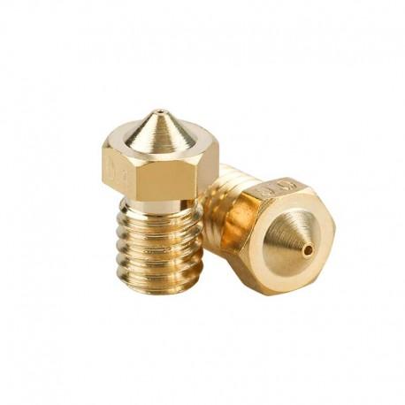 E3D V6 Copper/Brass Nozzle 0.2mm 0.3mm 0.4mm 0.5mm 0.6mm 0.8mm 1.0mm