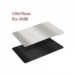 TWO TREES 138x78mm Magnetic Flexible Spring Steel Sheet Build Surface for Resin Printers
