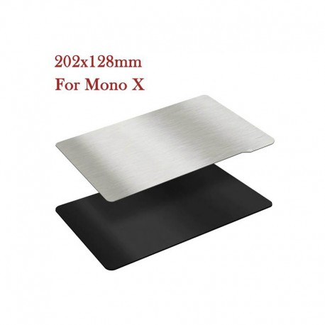 TWO TREES 202x128mm Magnetic Flexible Spring Steel Sheet Build Surface for Resin Printers