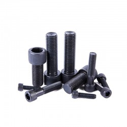 M3 Black Grade 12.9 Alloy Steel Hex Socket Head Cap Screw Allen Bolt