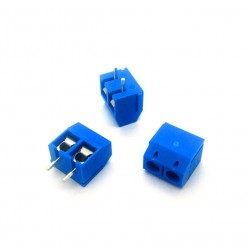 2 Pin Screw PCB Terminal Block Connector [5mm Pitch]