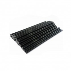 7mm 20cm Hot Melt Glue Sticks Black