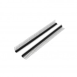 Male Right Angle Single Row 40 Pin Header Strip