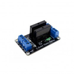 5V 2 Channel SSR Solid State Relay Module
