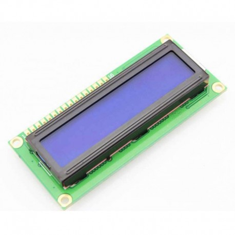 Character LCD Display (1602 16x2 16*2 Blue Screen)