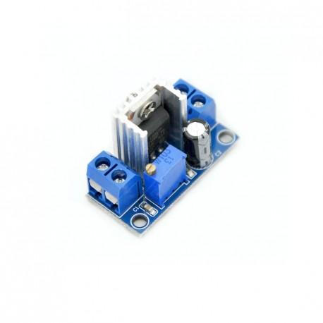 Step Down Adjustable Converter Module LM317 DC-DC Power Supply / Buck Converter (Screw terminal version)