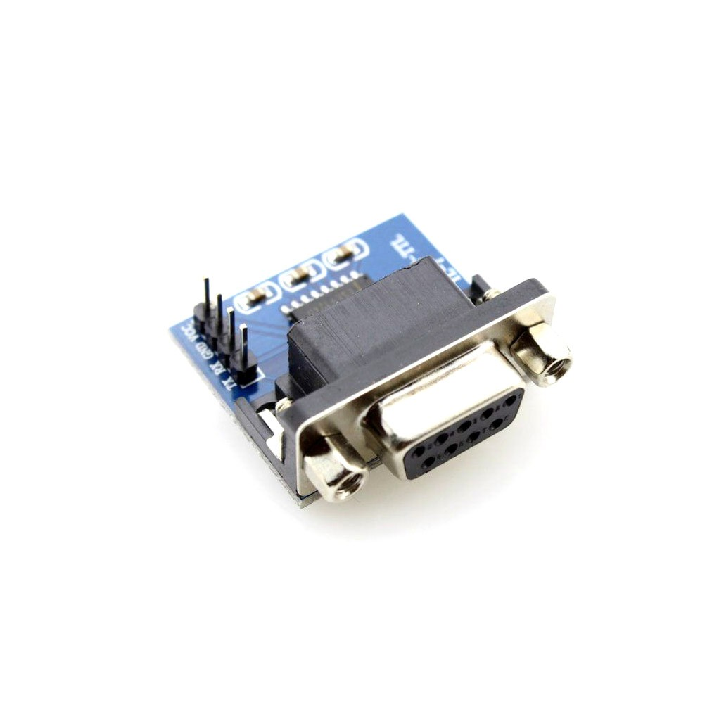 Rs232 To Ttl Serial Port Converter Module Db9 Connector Max232 Level Using Ic Max3232 Zenix Store