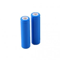3.7V Rechargeable Li-ion 18650 Battery Blue/Violet
