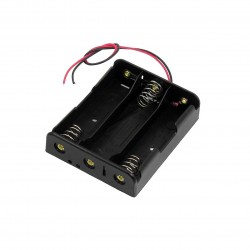 18650 (3.7V x 3) Battery Holder / Box / Case