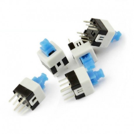 Push Button Self-locking Switch Rectangle Square 8x8mm