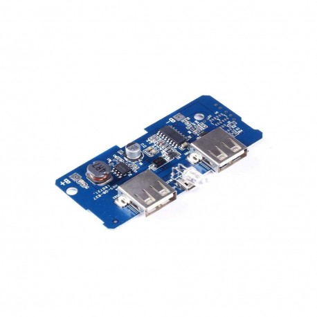 Power Bank Charger Board Charging Circuit Dual USB Output 5V 2A