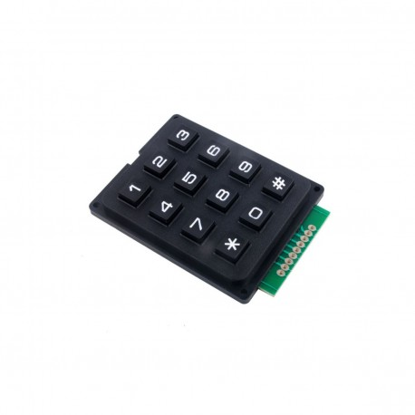 4x3 Matrix Keypad [Tactile]