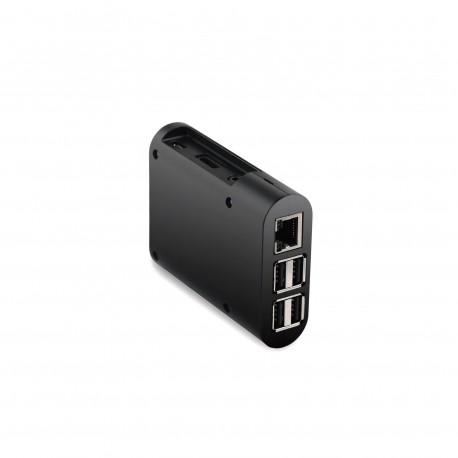 Raspberry Pi 3 Acrylic Enclosure Case Box Holder (Black)