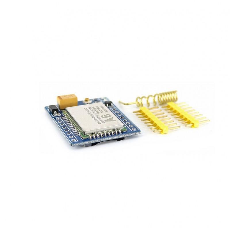 A6 GSM GPRS Module Mini Kit (Helical Antenna) - ZENIX Store