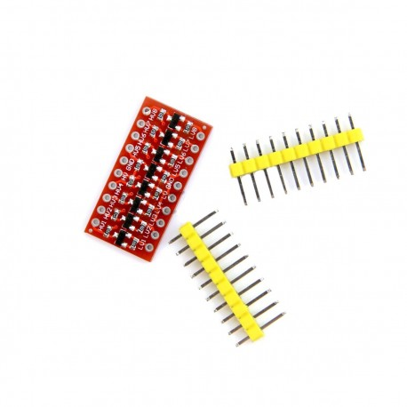 8 Channel I2C IIC Bi-Directional Logic Level Converter Module 5V - 3.3V