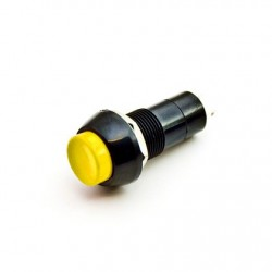 Push ON OFF Switch Button Yellow (Industrial)