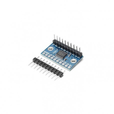 8 Channel I2C IIC Bi-Directional Logic Level Converter Module 5V - 3.3V (TXS0108E IC)