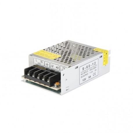 12V 5A Power Supply (Aluminum Cover)