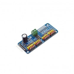 Servo Driver I2C Interface 16 Channel 12-bit PWM PCA9685 (Assembled)