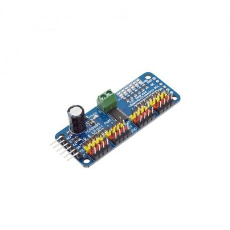 Servo Driver I2C Interface 16 Channel 12-bit PWM PCA9685 (Assembled)