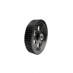 Heavy Load Tire Wheel Black 95mm