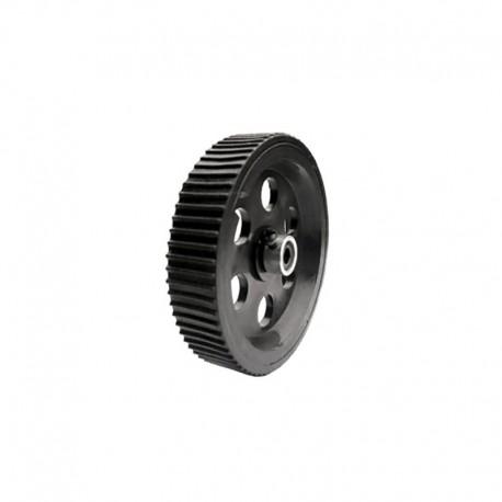 Heavy Load Tire Wheel Black 95mm