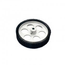 Heavy Load Tire Wheel White 110mm