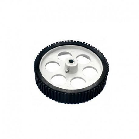 Heavy Load Tire Wheel White 110mm